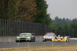 #009 Aston Martin Racing Aston Martin DB9: Pedro Lamy, Stéphane Sarrazin, #9 Highcroft Racing Lola EX257: Duncan Dayton, Andy Wallace