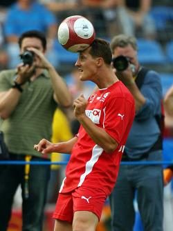 Spiel des Herzens, F1 Superstars plays against the RTL Superstars UNESCO event: Michael Schumacher