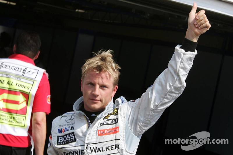 2006 - Kimi Raikkonen, McLaren Mercedes