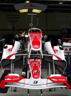 Super Aguri F1 SA06 frente alas