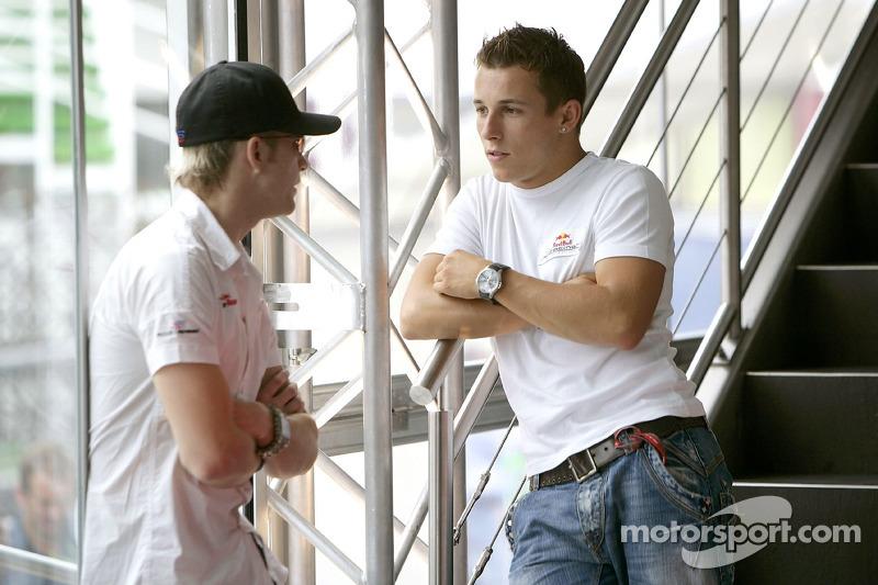 Scott Speed y Christian Klien