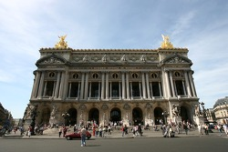 The Palais Garnier opera house