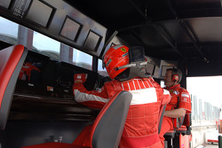 Michael Schumacher y Nigel Stepney