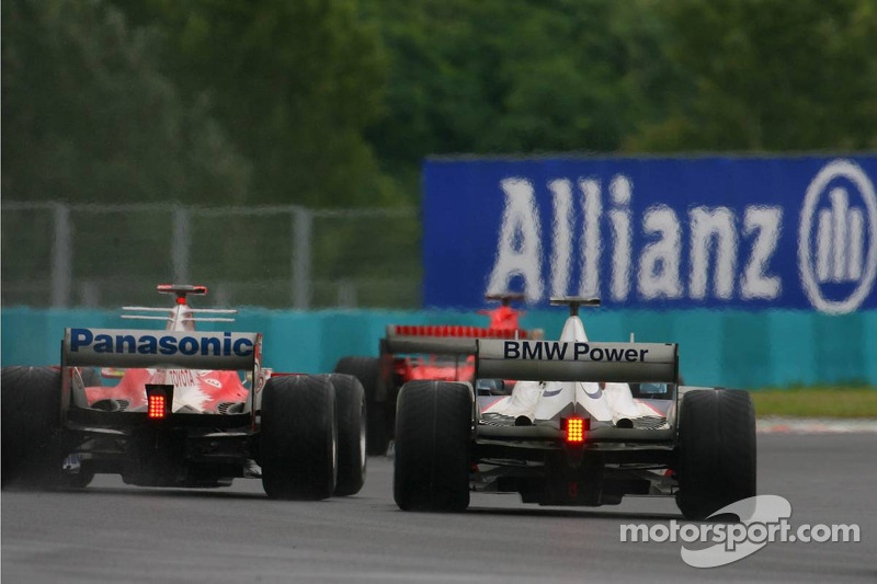 Robert Kubica y Ralf Schumacher