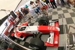 Toyota Racing display: a Toyota F1