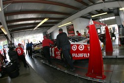 Target Dodge at technical inspection