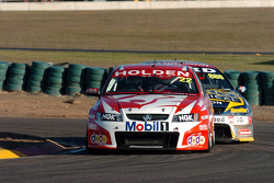Todd Kelly being hounded by Craig Lowndes