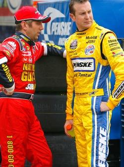 Greg Biffle and Kurt Busch