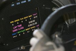 Cockpit of the GLPK-Carsport Corvette C6R