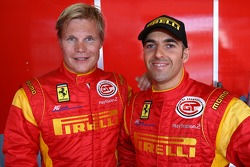 Mika Salo and Rui Aguas