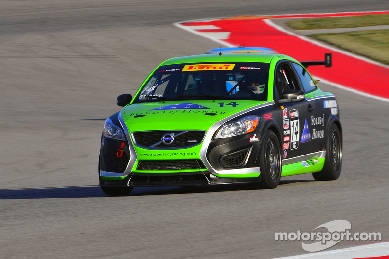 #14 3R Racing/Stacy Racing, Volvo C30: Nathan Stacy