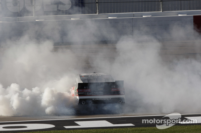 Race winner Austin Dillon, Richard Childress Racing Chevrolet celebrates