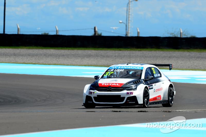 Jose Maria Lopez, Citroën Total WTCC, Citroën C-Elysée WTCC