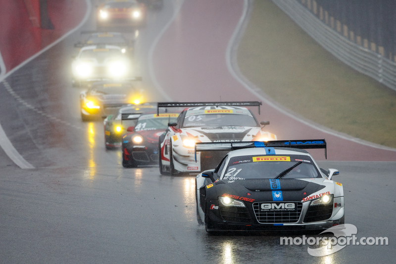 #21 Global Motorsports Group Racing, Audi R8 LMS Ultra: Madison Snow