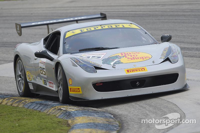 #85 Ferrari of Fort Lauderdale, Ferrari 458: Steve Johnson