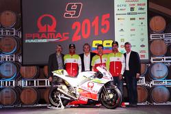Йонни Эрнандес и Данило Петруччи Pramac Racing Ducati