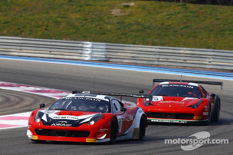 #10 Akka ASP, Ferrari 458 Italia: Jean-Philippe Belloc, Christophe Bourret