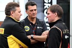 Federico Gastaldi Manager y Alan Permane Lotus F1 Team Operaciones en pista
