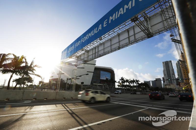 迈阿密街道赛道全景