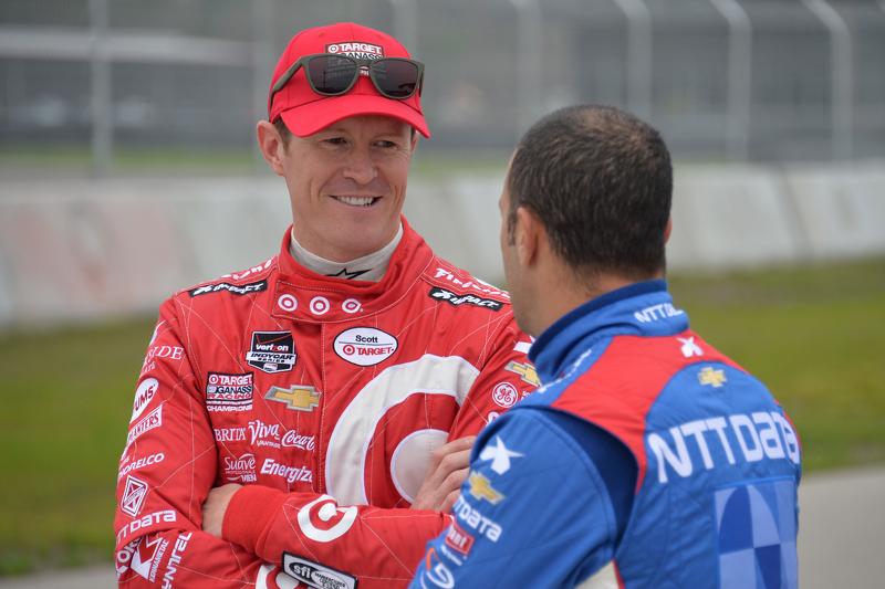 Scott Dixon und Tony Kanaan, Chip Ganassi Racing