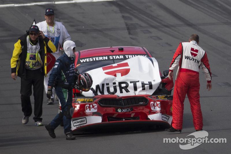 Маркос Емброуз, Team Penske Ford в біді