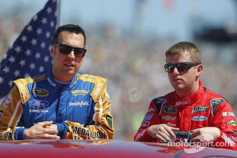 Sam Hornish jr., Richard Petty Motorsports, Ford, Justin Allgaier, HSCott Motorsports, Chevrolet