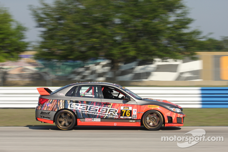 #76 Compass360 Racing Subaru WRX STI: Ray Maсин, Pierre Kleinubing