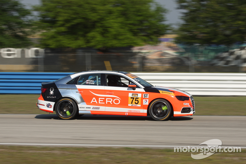 #75 Compass360 Racing, Audi S3: Paul Holton, Kyle Gimple