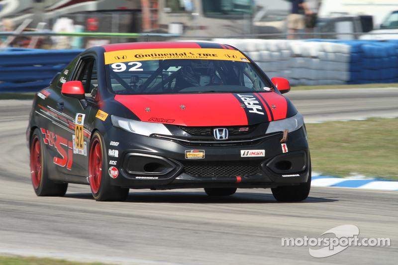 #92 HART Honda Civic Si: Kevin Boehm, Steve Eich