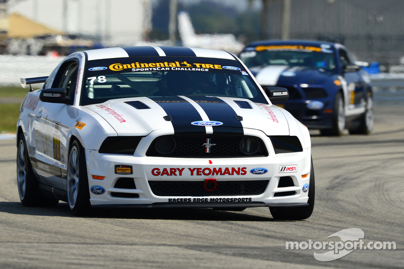 #78 Racers Edge Motorsports Mustang Boss 302 R: Chris Beaufait, Bob Michaelian