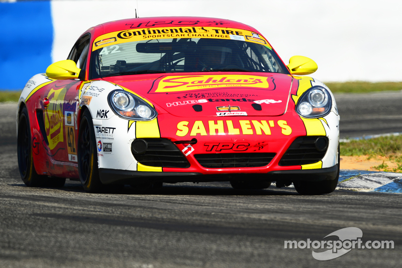 #42 Team Sahlen, Porsche Cayman: Will Nonnamaker, Jeff Segal