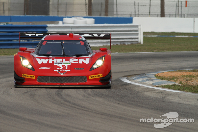 #31 Action Express Racing, Corvette DP: Eric Curran, Dane Cameron, Max Papis