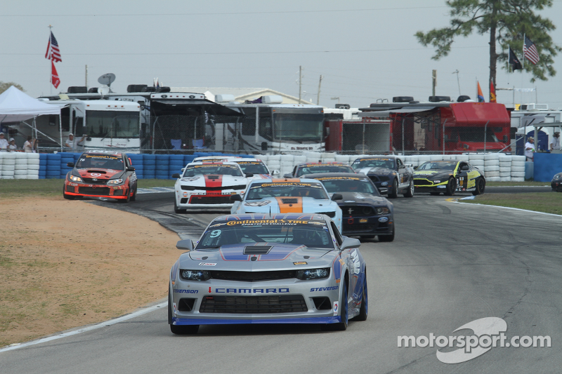 #9 Stevenson Motorsports,科迈罗Z/28.R: Lawson Aschenbach, Matt Bell