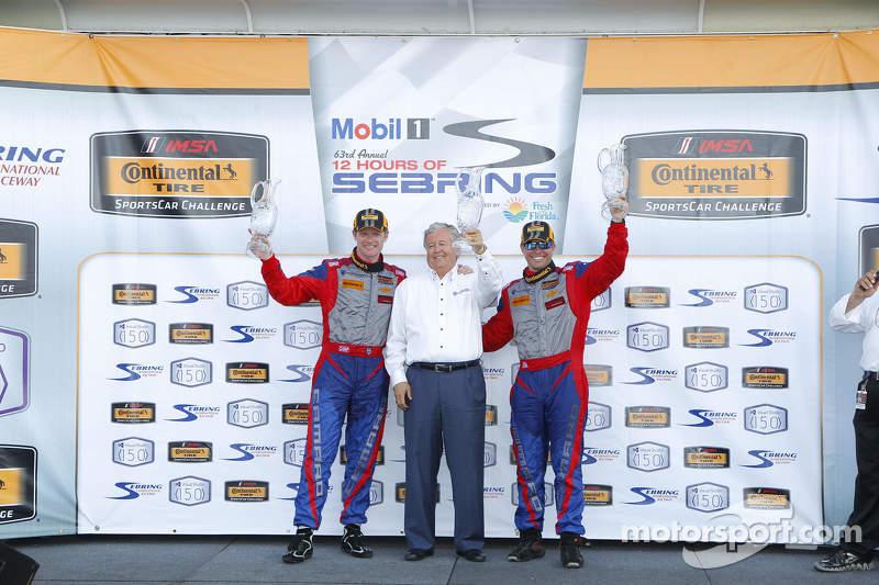 Podium: 1. Robin Liddell, Andrew Davis; Stevenson Motorsports