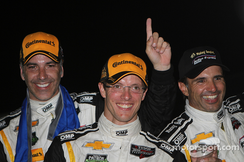 Race winners #5 Action Express Racing Corvette DP: Joao Barbosa, Sébastien Bourdais, Christian Fitti