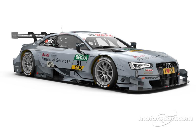 Nico Muller, Audi Sport Team Rosberg, Audi RS 5 DTM