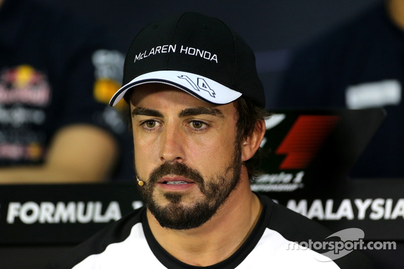 FIA press conference: Fernando Alonso, McLaren Honda