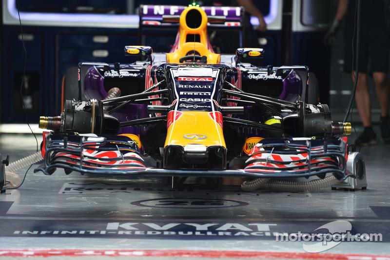 Red Bull Racing RB11 dari Daniil Kvyat, Red Bull Racing