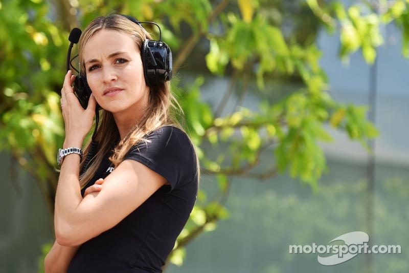 Carmen Jorda, Lotus F1 Piloto de Desarrollo de Equipos