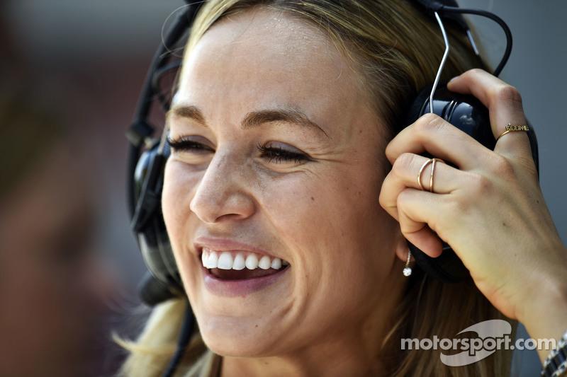 Carmen Jorda, Lotus F1 Piloto de Desarrollo de Equipo