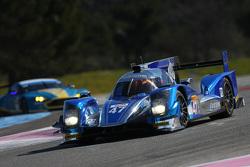 Oreca 05 Nissan команды KCMG: Мэттью Хаусон, Ник Тэнди и Ричард Бредли