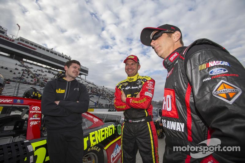Клінт Бойєр, Michael Waltrip Racing Toyota, Грег Біффл, Roush Fenway Racing Ford