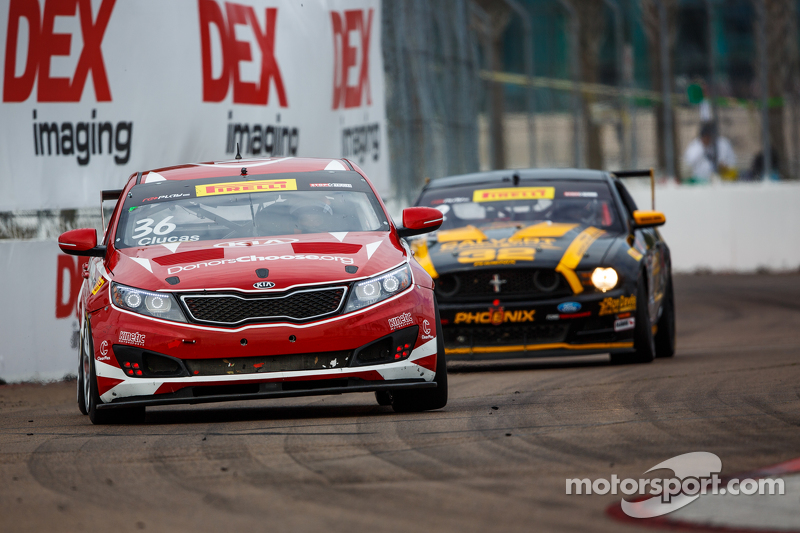 #36 Kinetic Motorsports/Kia Racing, Kia Optima: Ben Clucas