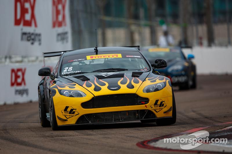 #28 LG Motorsports Aston Martin Vantage GT4: Lou Gigliotti