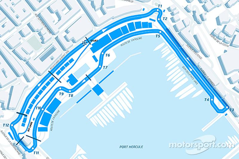 El recorrido para el ePrix de Mónaco