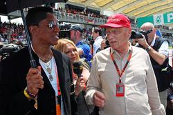 Джермейн Джексон, Певец с Ники Лаудой, неисполнительным директором Mercedes