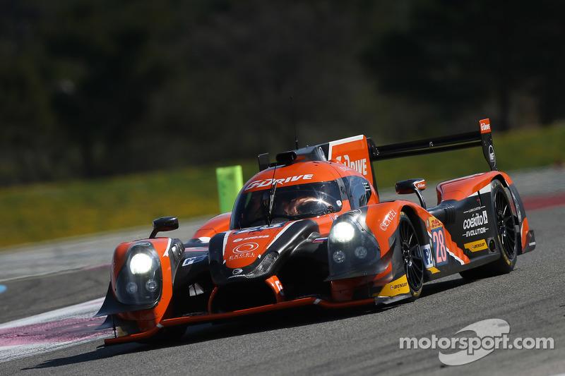 #28 G-Drive Racing, Ligier JS P2 Nissan: Gustavo Yacaman, Pipo Derani, Ricardo Gonzalez