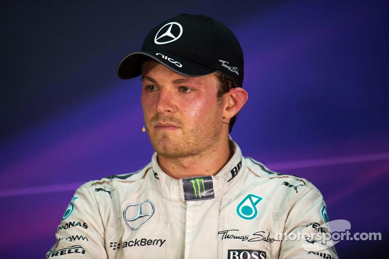 尼克·罗斯伯格, 梅赛德斯AMG车队,在国际汽联新闻发布会