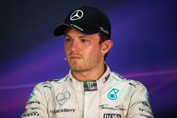 Nico Rosberg, Mercedes AMG F1, in der FIA-Pressekonferenz