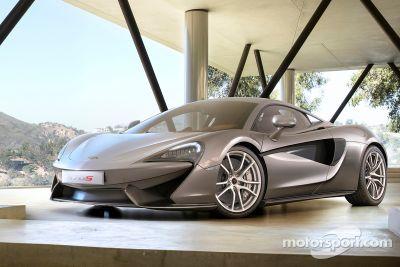 Презентация McLaren 570S